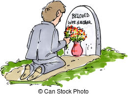 Mourn clipart  lost Beloved at his