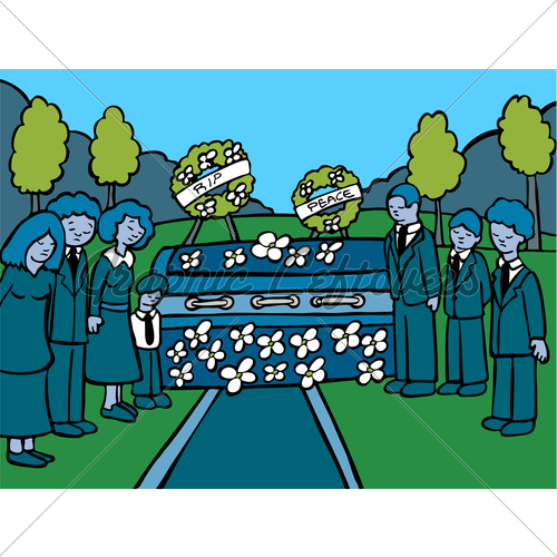 Mourn clipart Art Clip Lost Loved funeral