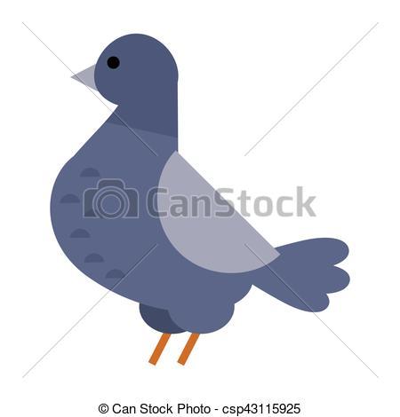Mourning Dove clipart cartoon Illustration cartoon illustration bird icon