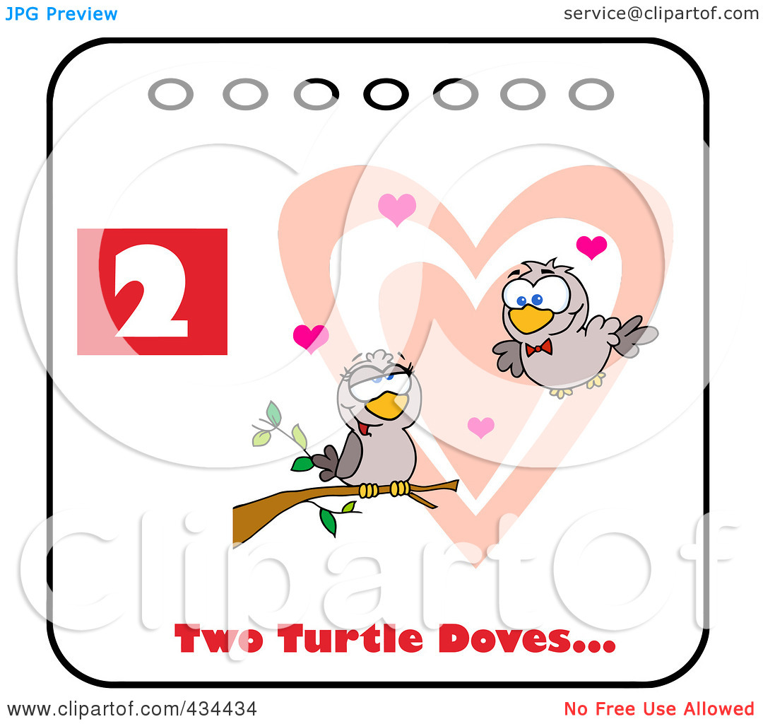 Mourning Dove clipart cartoon Decor: Dove Mourning Two Drumming
