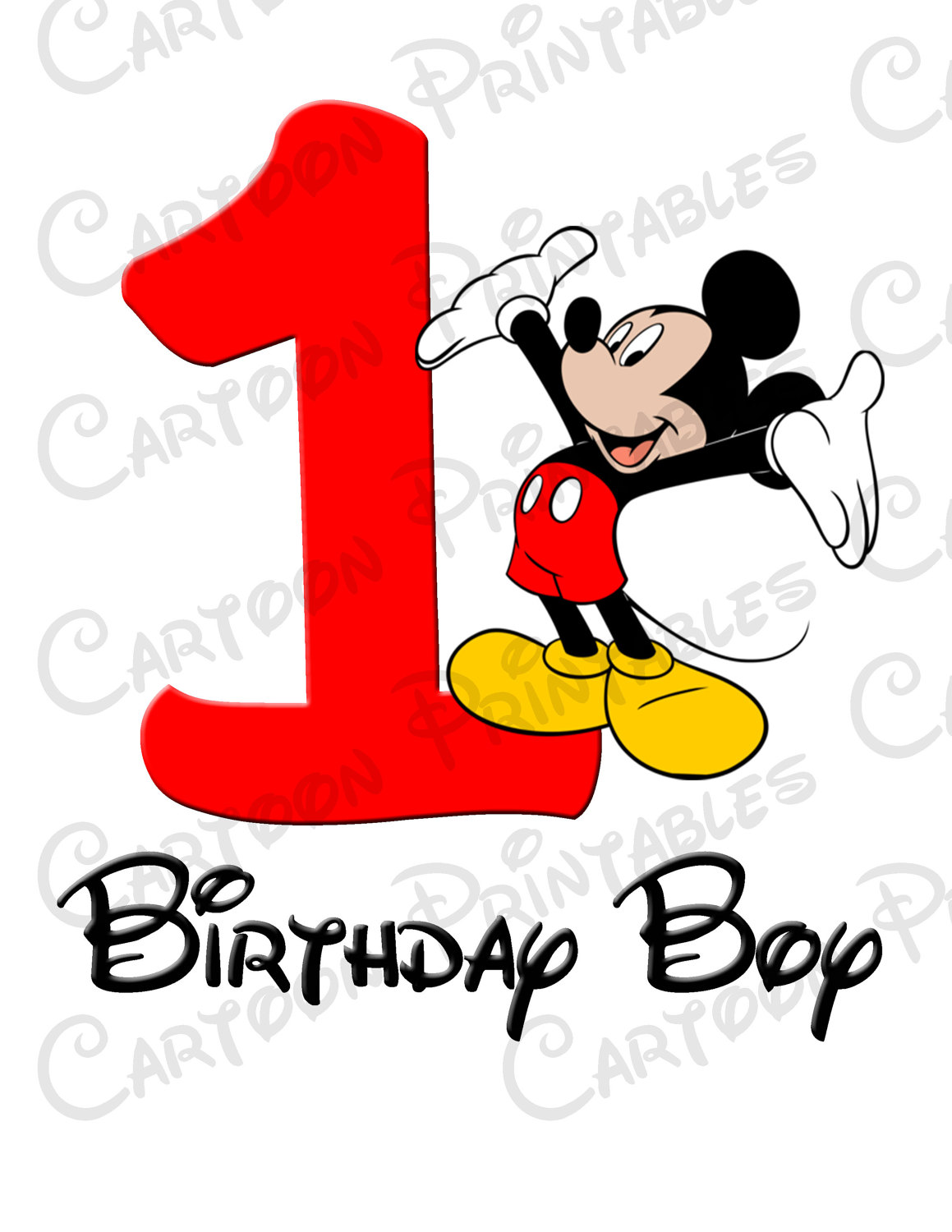 Mouse clipart boy Mouse Boy Birthday Mickey T
