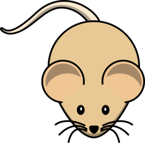 Mouse clipart brown mouse #5