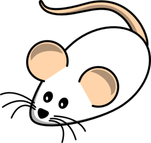 White clipart mouse Mouse Clip clip Clip Clker