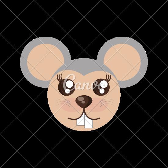 Mouse clipart kawaii By Kawaii Face Kawaii Icons