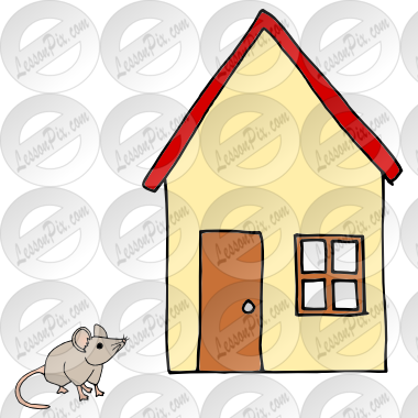Mouse clipart mouse house  Mouse Great Picture House