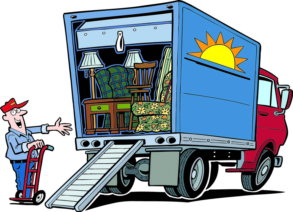 Moving clipart Moving free Clipartix clipart 4