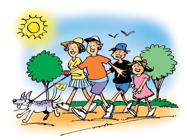 Hiking clipart family gardening  goals Breathe MAPPS and
