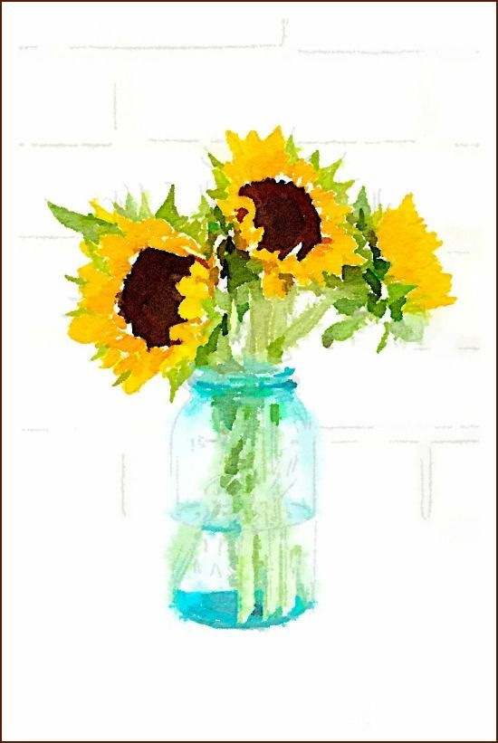 Water Color clipart wall painting #1
