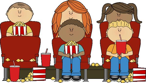 Movie clipart Kids Movie Clip Kids Night