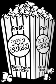 Snack clipart popcorn bucket Popcorn at Art Clip com