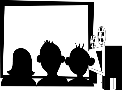 Theatre clipart black and white Clip art Art Pictures top