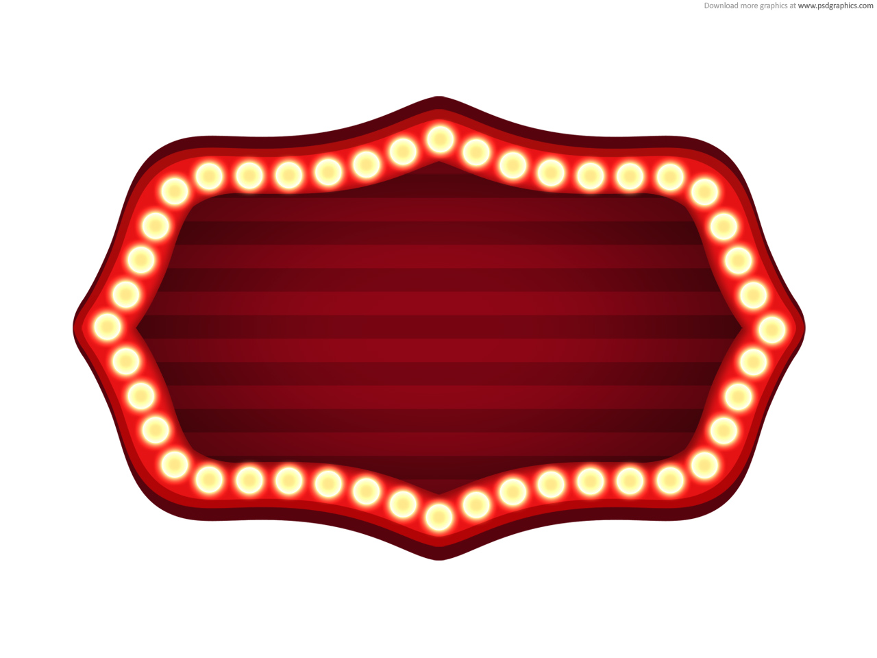 Red Carpet clipart hollywood light Theme Free Border Hollywood Clip