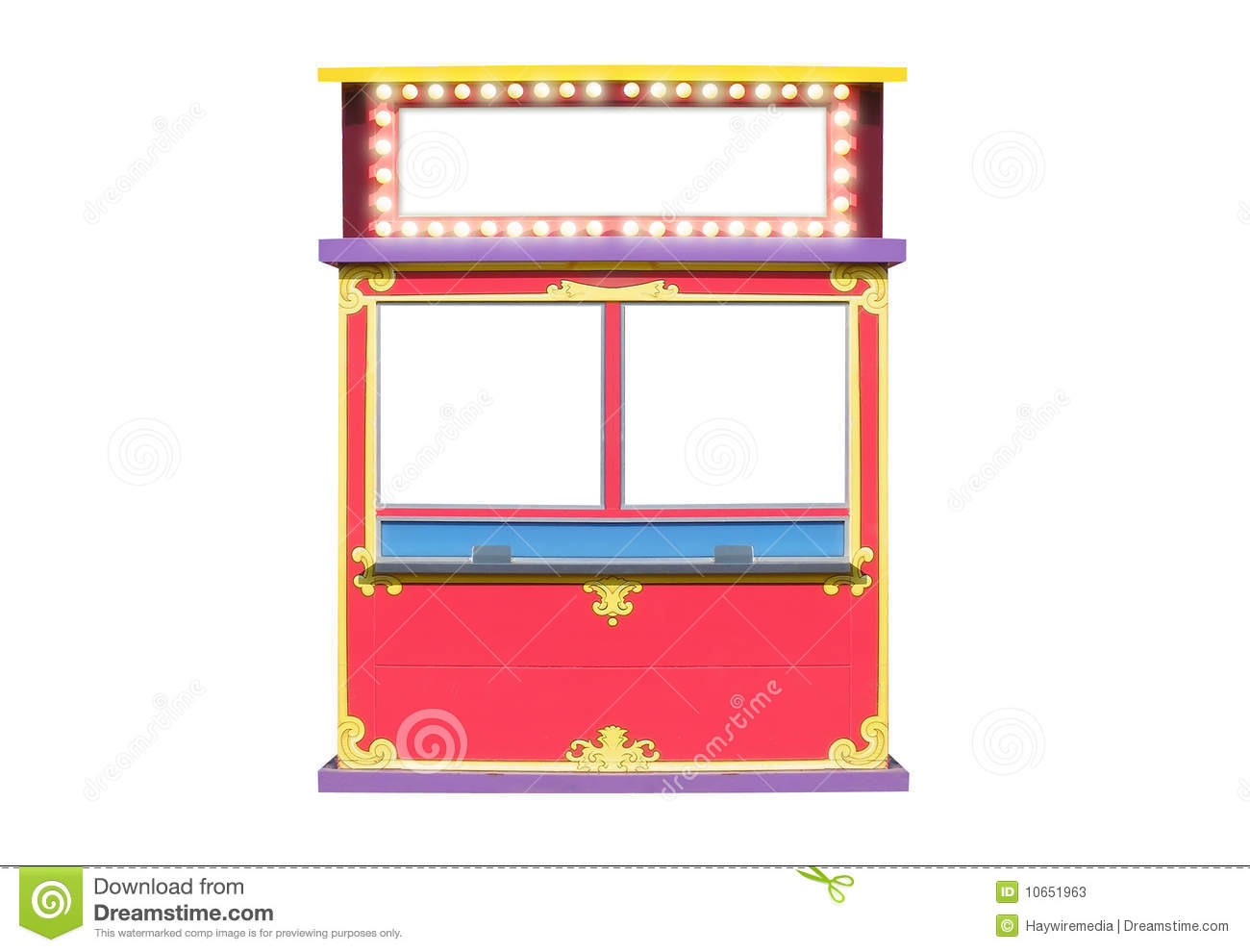 Carnival clipart ticket booth Movie clipart theater collection booth