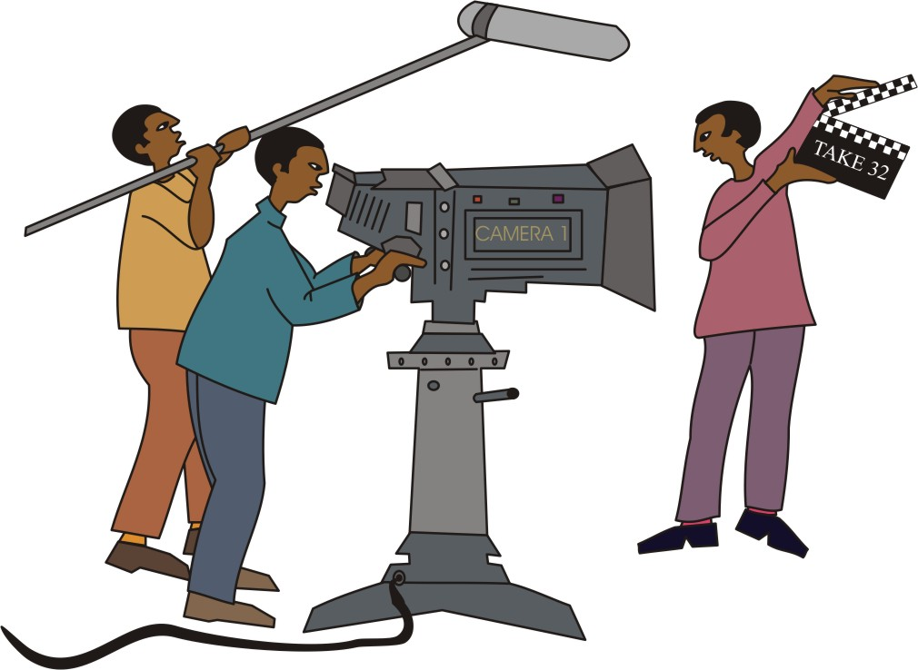 Movie clipart cartoon Clipart Download Crew Movie Crew