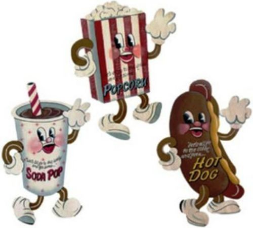 Popcorn clipart concession stand Movie Snack Stand Sign Popcorn~Soda~Hotdog