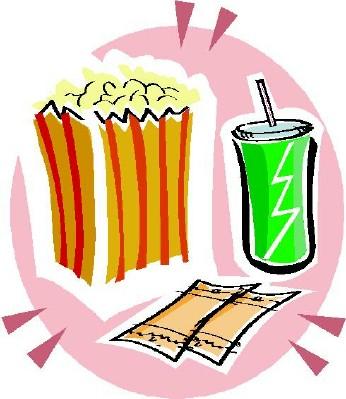 Popcorn clipart ticket Concession – Concession Download Clipart