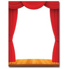 Theatre clipart border Drawing Computer Drawing Curtains stage
