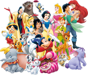 Movie clipart disney Characters Clipart Disney Assorted Together