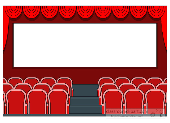 Theatre clipart theater Movie Free Images Art FreeClipart