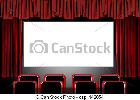 Movie clipart elegant Theatre Photoshop Illustration Drapes Movie
