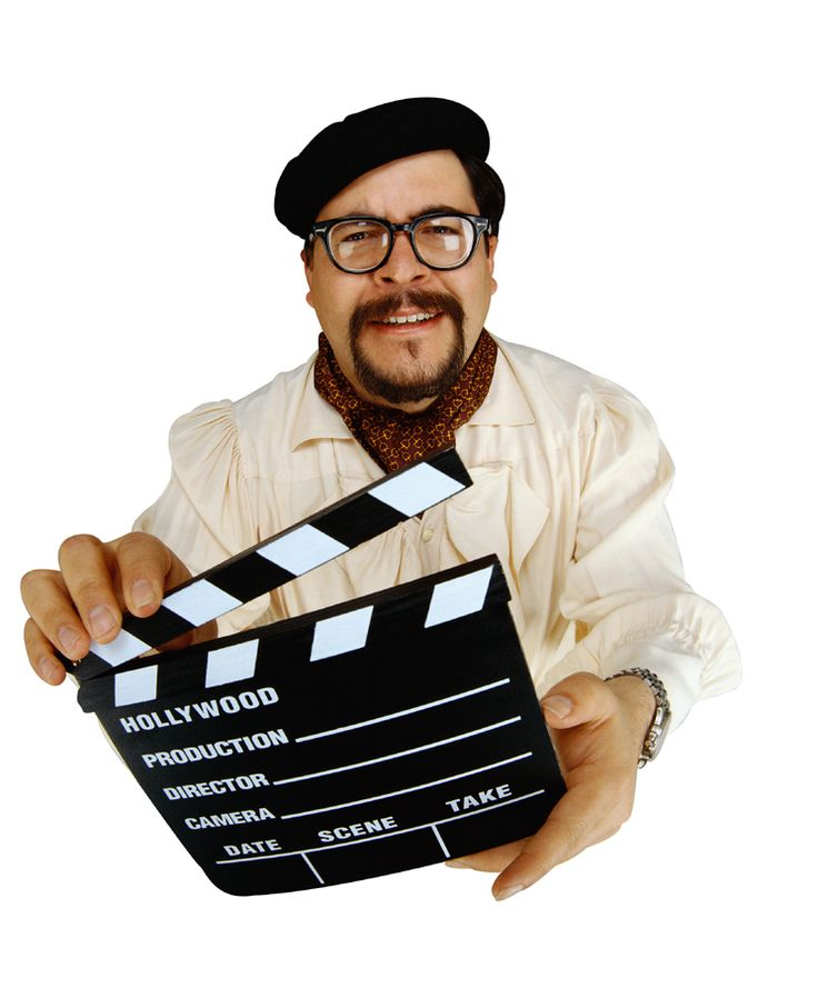 """Movie clipart film director Movie """"Sleeping Material? Action! Events"""