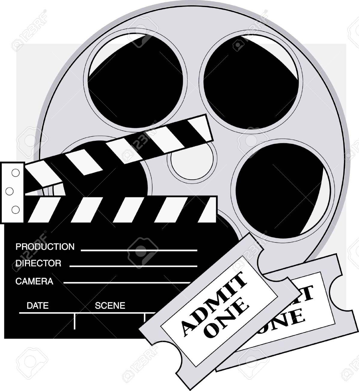 Movie clipart film director Symbol Cinema Street movie Cinema