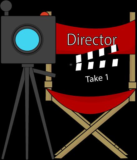 Movie clipart film director Collection Clip & clipart Clip