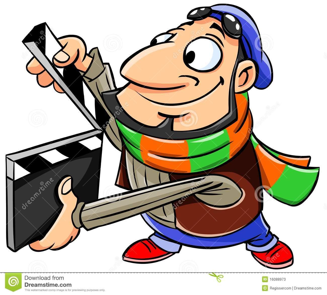 Movie clipart film director Clipart Clip Film – Director