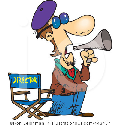 Movie clipart film director Director Clipart Images Panda Movie