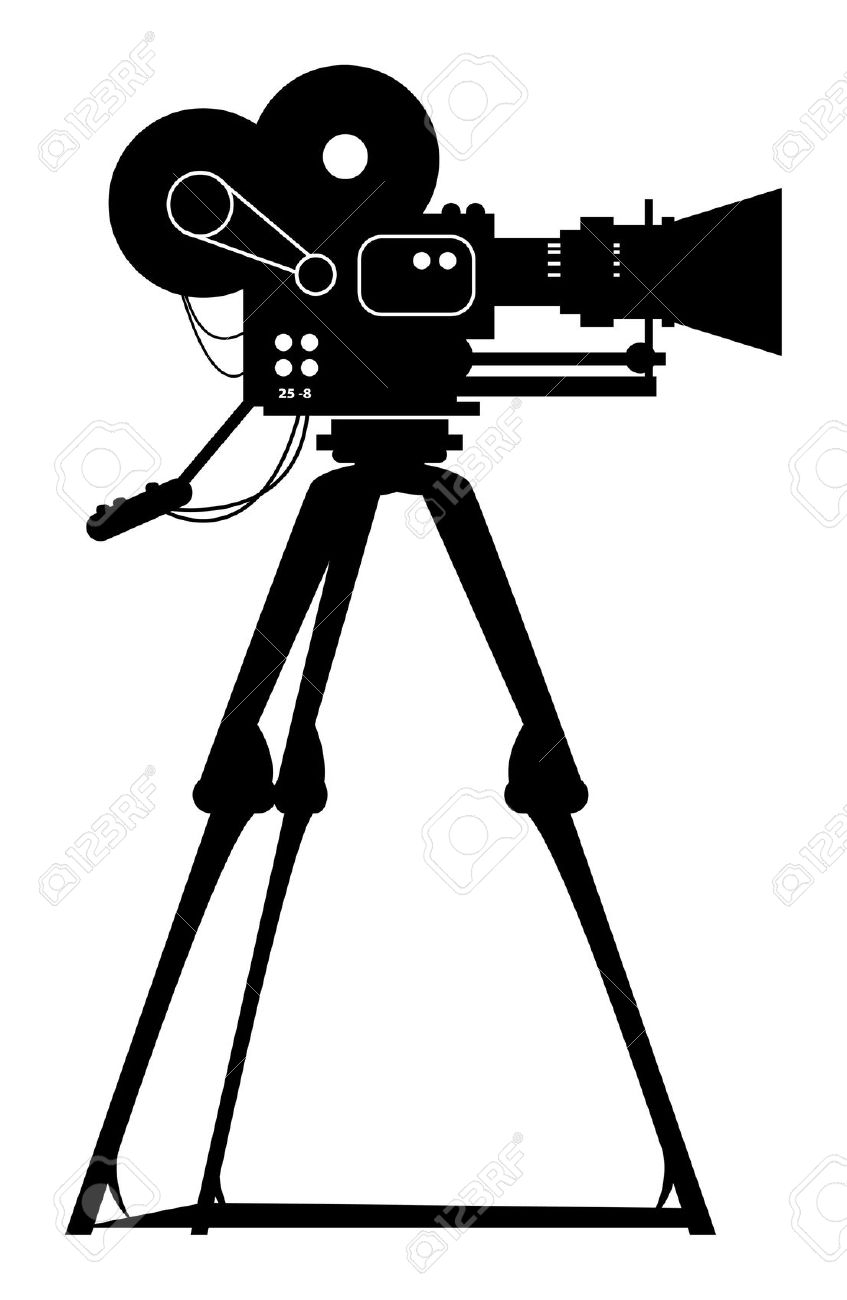 Camera clipart film shooting camera Film camera shooting camera clipart