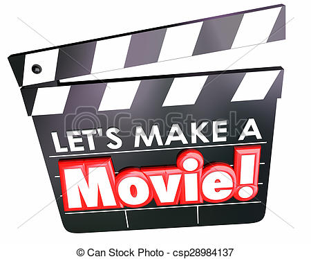 Movie clipart filmmaking A Board Clapper Photos