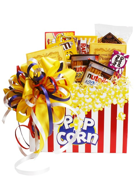 Movie clipart gift basket Build a Basket Night http