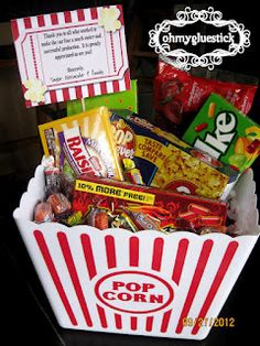 Movie clipart gift basket Free Move Candy #popcornprintables Free