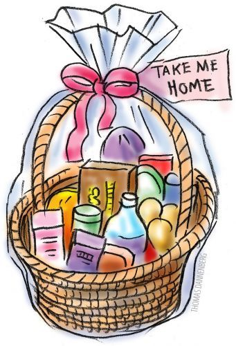 Wine clipart gift hamper Cliparts Auction Silent Clipart Basket