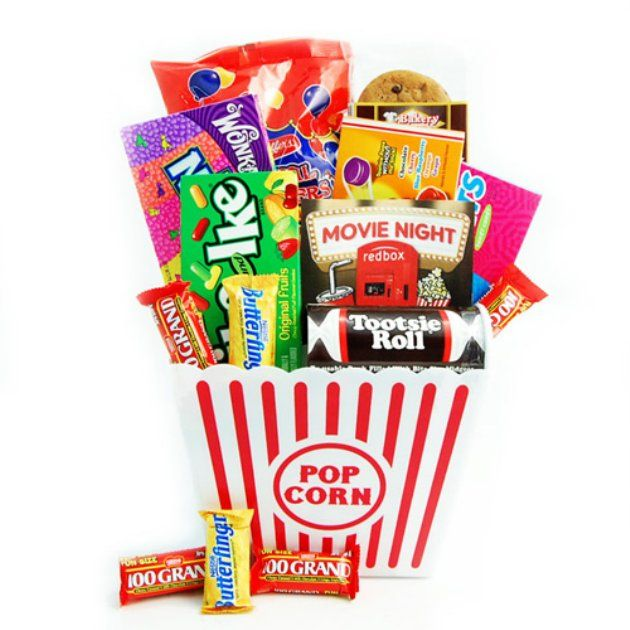 Movie clipart gift basket On night gift ideas Movie