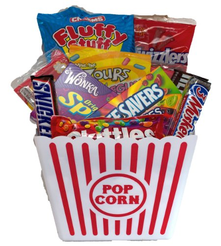 Movie clipart gift basket Com Food Night Snacks :
