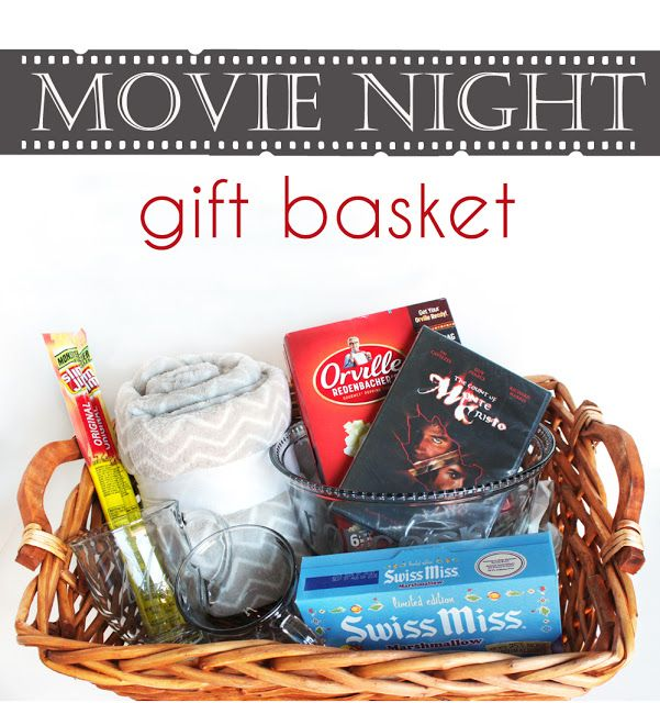 Movie clipart gift basket Pinterest basket about Movie gift