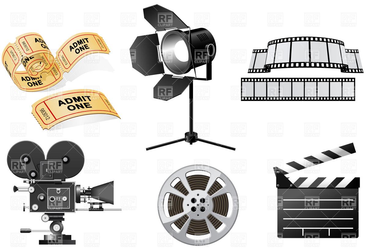 Movie clipart hollywood camera Clipartion Free com Clipart #17524