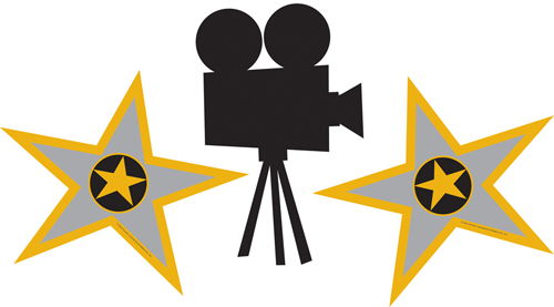 Actor clipart hollywood #20583 Movie clip reel of