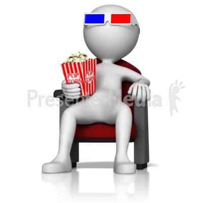 Movie clipart media At Movie 3D Presentation