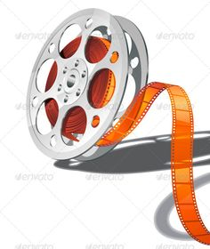 Movie clipart media Designs rolls DOWNLOAD of on