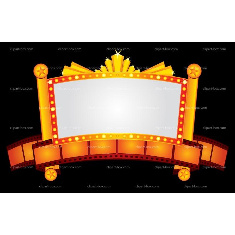 Theatre clipart film light Theater Download billboard Theater Billboard