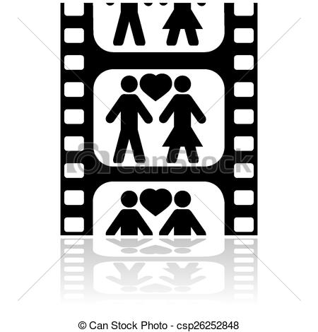 Movie clipart movie date 556 a date art Icon