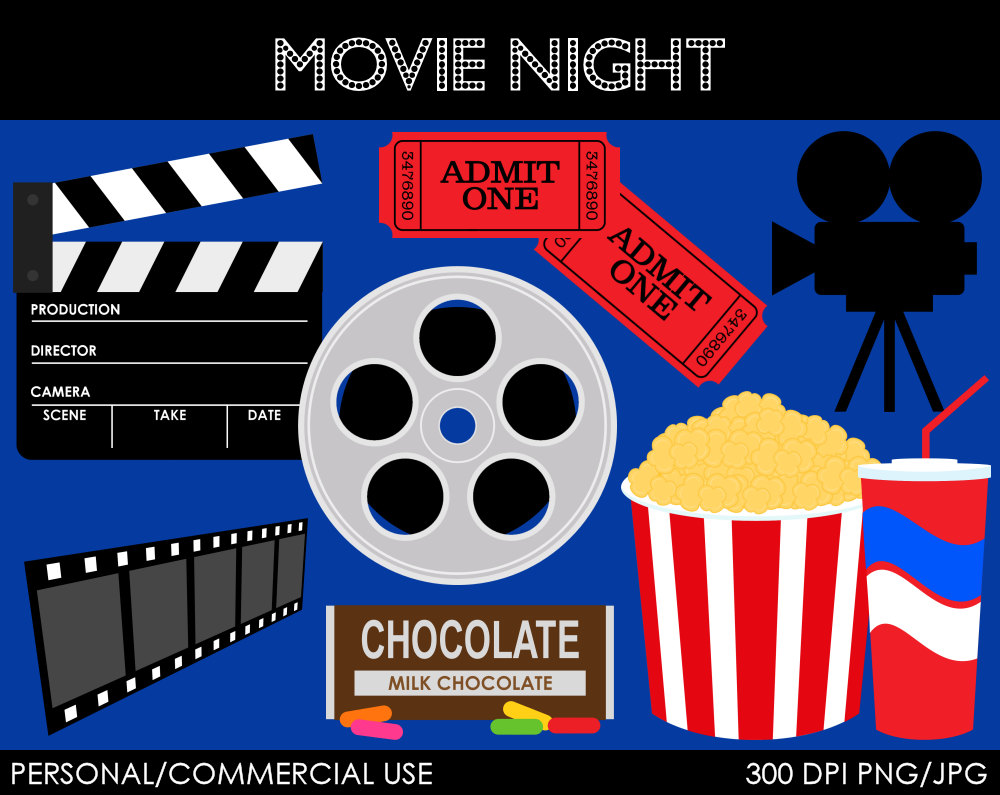 Movie clipart movie date Tiny 183 Clipart Clipart Movie