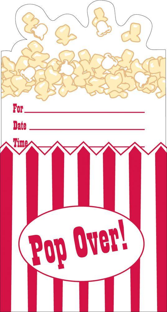 Popcorn clipart movie party Cinema 25+ Cinema Party Party