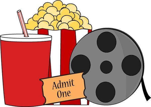 Popcorn clipart movie party Art Clip Clip Download Clipart