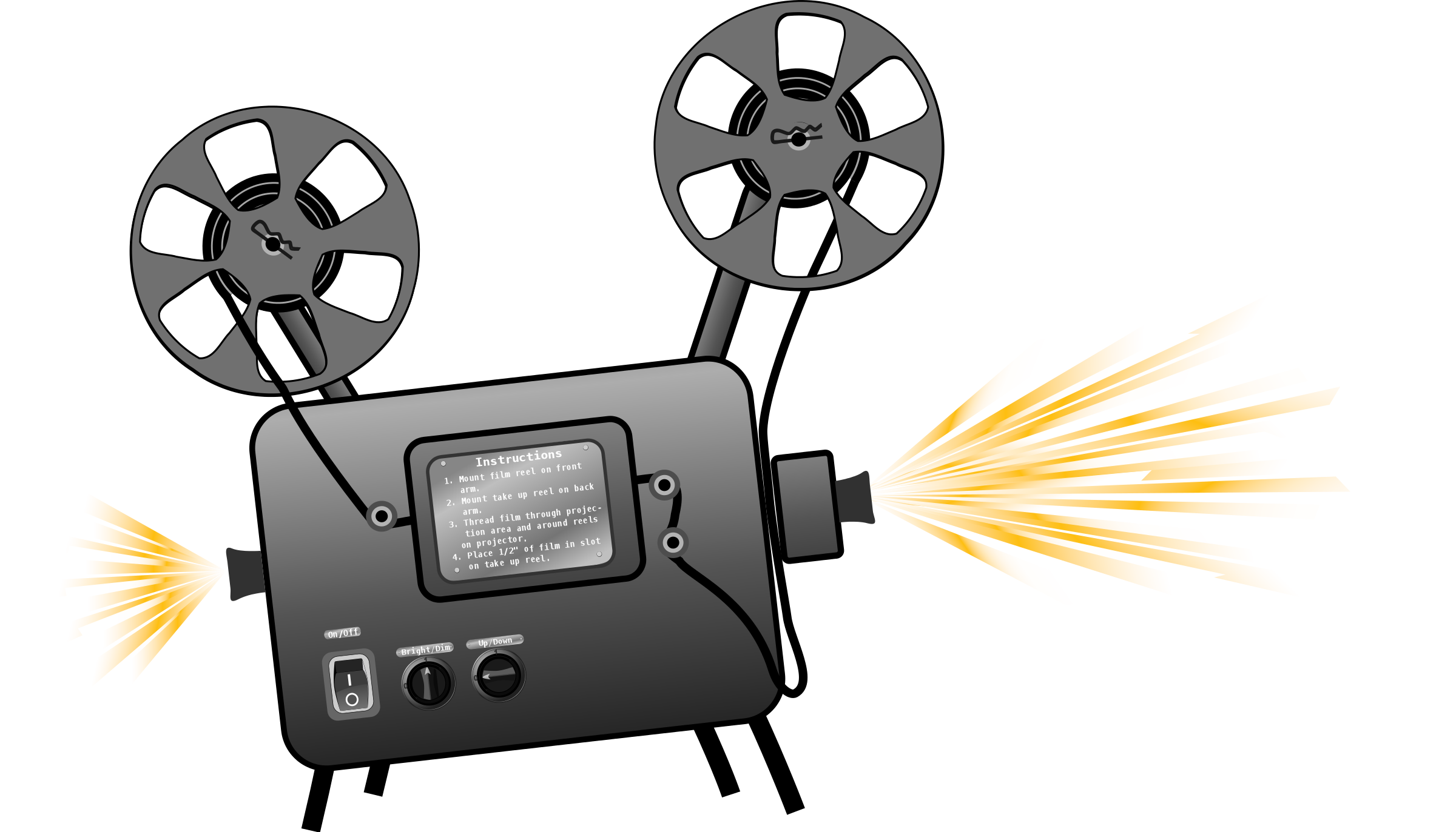 Movie clipart movie projector Clipart Free Clipart Clipart Movie