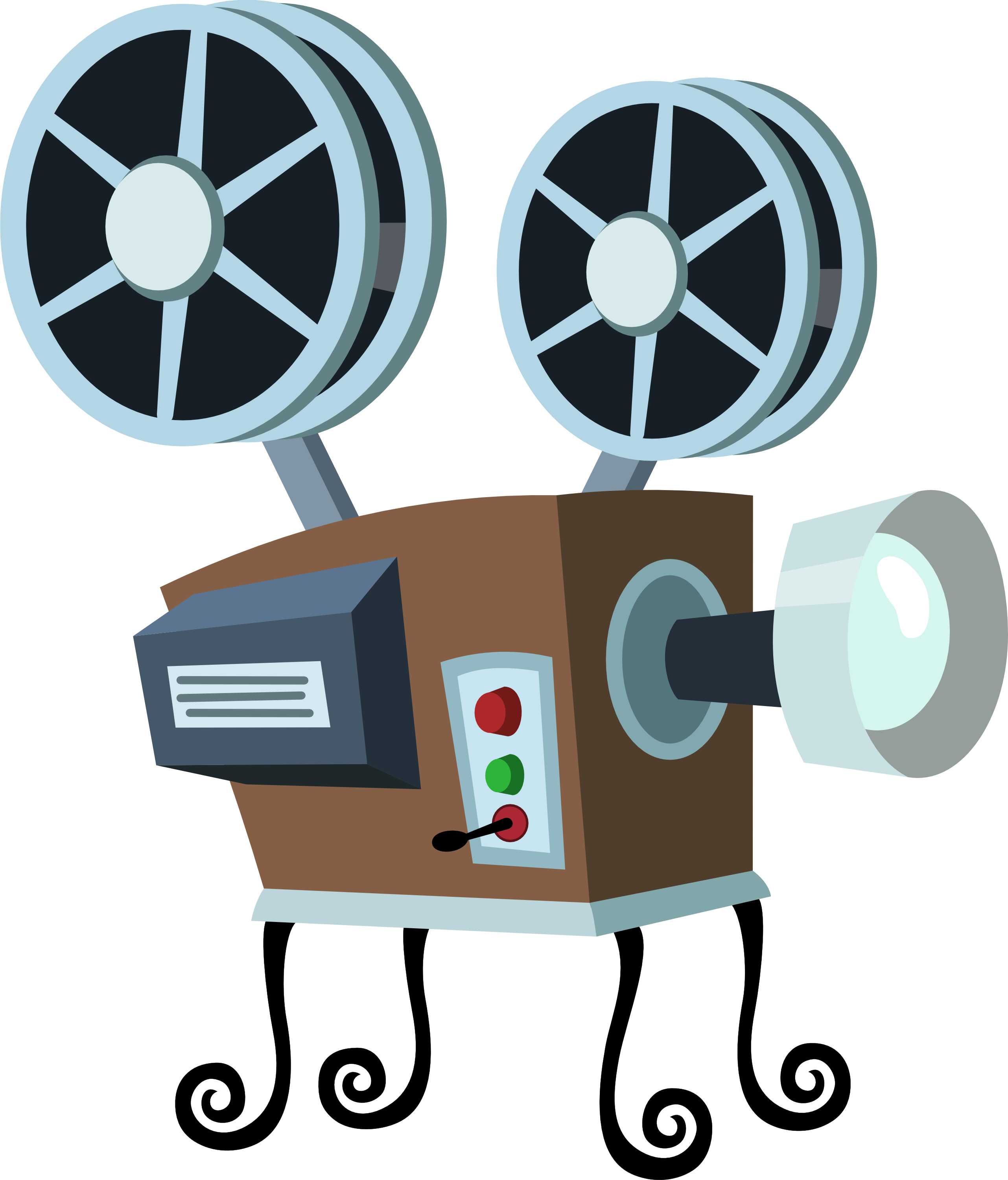 Movie clipart movie projector Clipart Projector Clipart Standing and