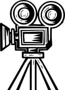 Movie clipart movie projector MOVIE HOME VINTAGE HOME FILM