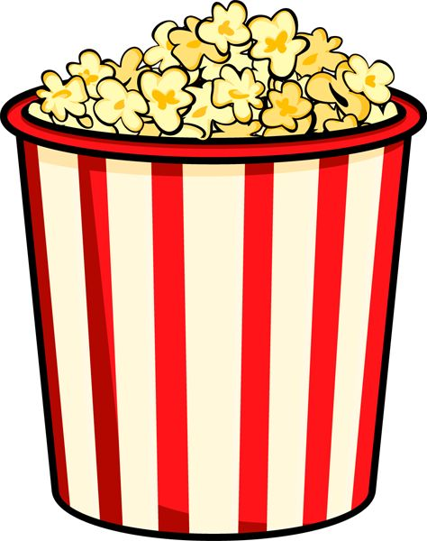 Snack clipart popcorn bucket Popcorn best 102 movie images
